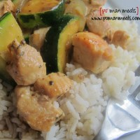 chicken and zucchini saute'
