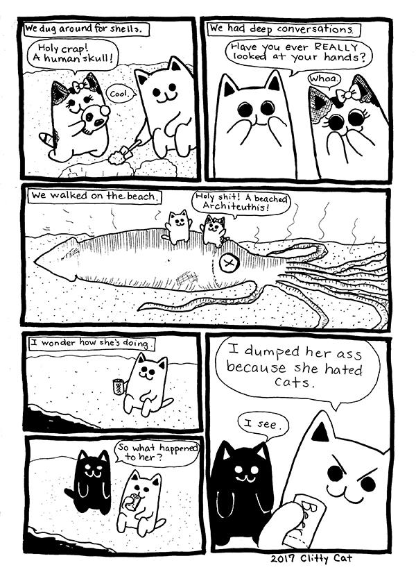 Clitty Cat's Innocent Summer Love • POMEgranate Magazine