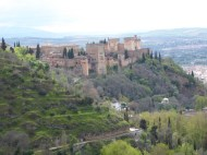 The ever-present Alhambra.