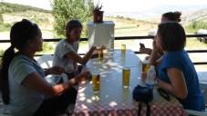 Fuente del Hervidero (turn off at La Zubia) Café con leche consumed before hike; cerveza afterward.