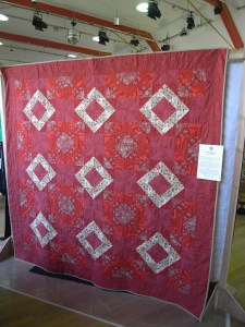 Alison's red quilt