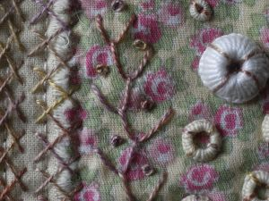 Laura Ashley mini quilt 2 - detail