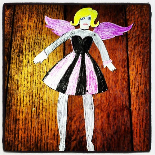 Fallen Angel paper doll - nothing at all to do with leadership