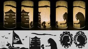 silhouettecylinders