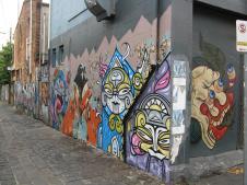Brunswick Street graffiti