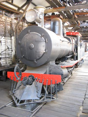 Yarloop rail yard museum