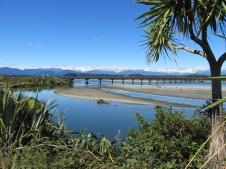 Hokitika river NZ