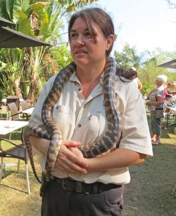 Ranger from Territory wildlife park