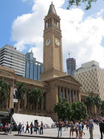 Brisbane Brisbane City Hall clock tower
