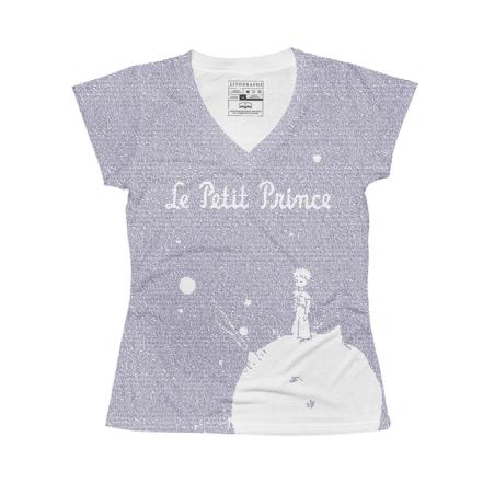 littleprince_tee_vneck_m_lavender_front