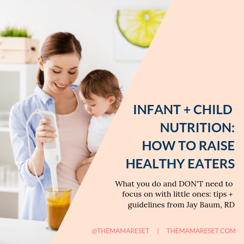 infant and kid nutrition