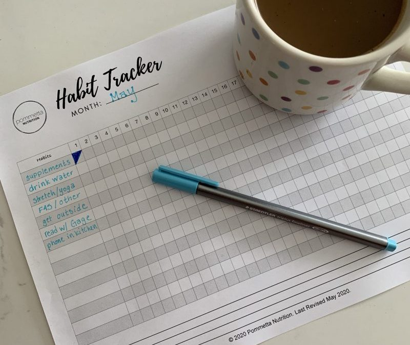 Habit Tracker + Gentle Accountability