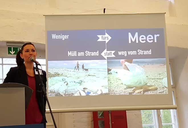 Vorstellung der Kampagne Weniger fürs Meer