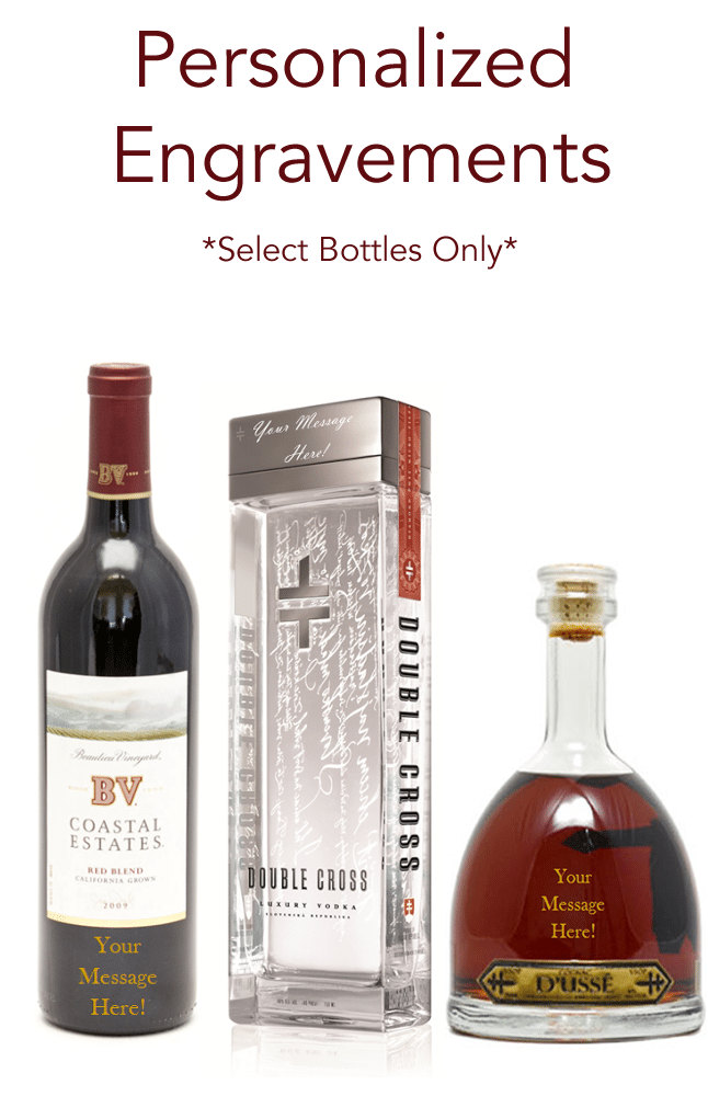 Personalized engravings on select bottles only in Hackensack, NJ