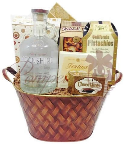 Whiskey Gift Basket NYC