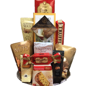 Snacker's Perfect Gourmet Gift Basket, Gourmet Gift Baskets NJ, Gourmet Gift Baskets new jersey, free delivery gift baskets nj, same day delivery gift baskets nj, nonalcoholic gift baskets nj