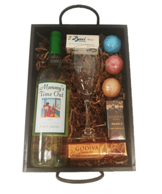 Mommy's Time Out Gift Basket