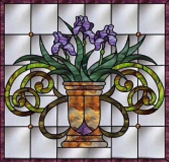 Jeweled Irises
