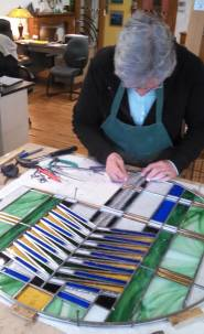 Stained Glass Window Assembly 1