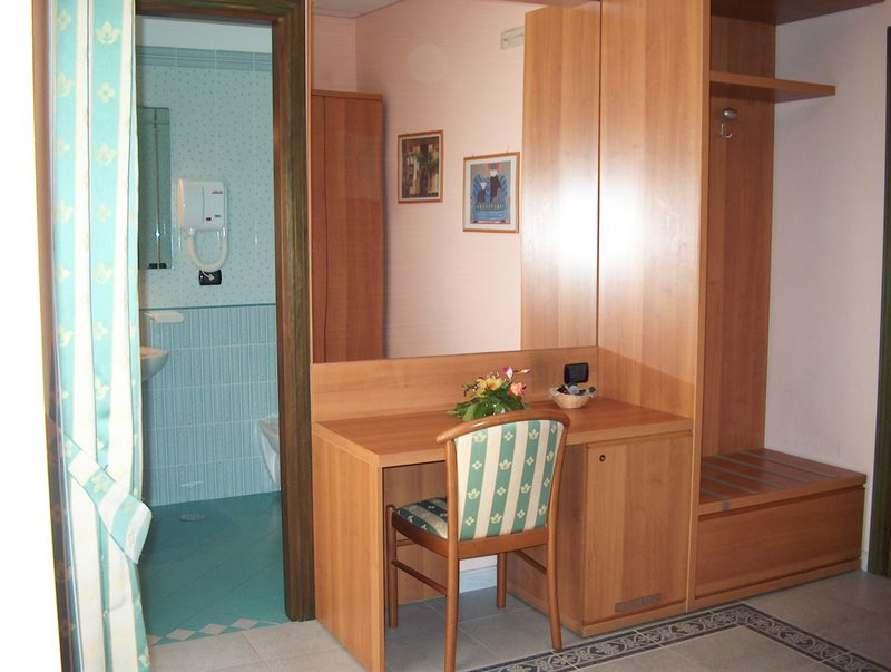 Desk and Cabinet are present in all rooms
