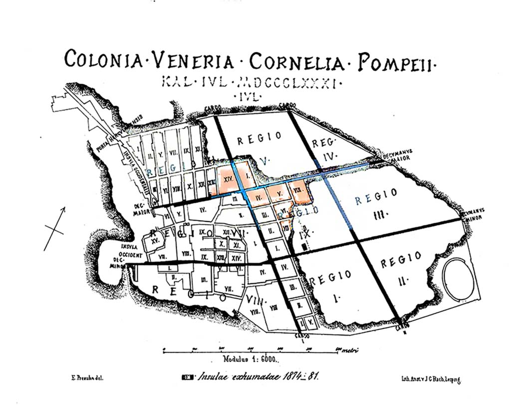 maps pompeii