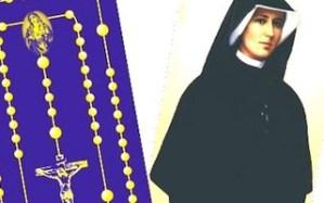 św. Faustyna i różaniec