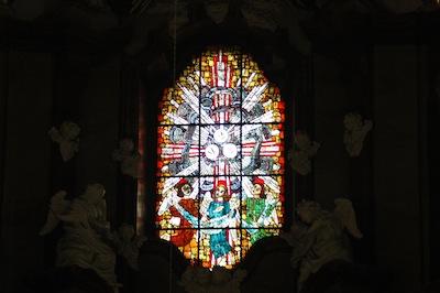 Witraż – Kościół Bożego Ciała