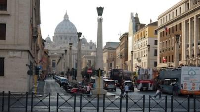 Widok na Watykan