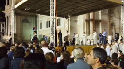 Przemówienie i błogosławieństwo arcybiskupa