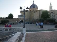 Widok na bazylikę