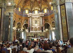 Msza w Pompejach
