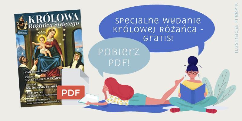 """Poznaj """"Królową Różańca"""" – pobierz darmowy PDF!"""