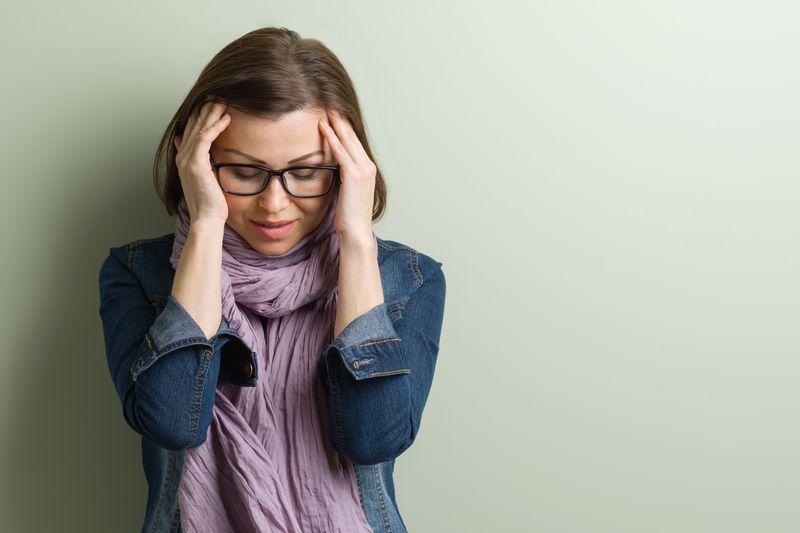 Problemy, zmartwienia, ból głowy