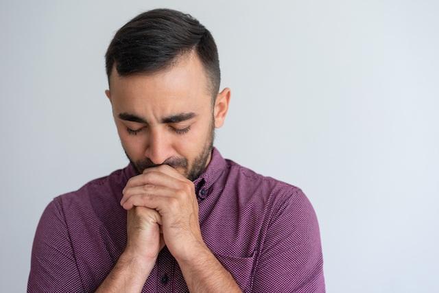 Modlitwa mężczyzny