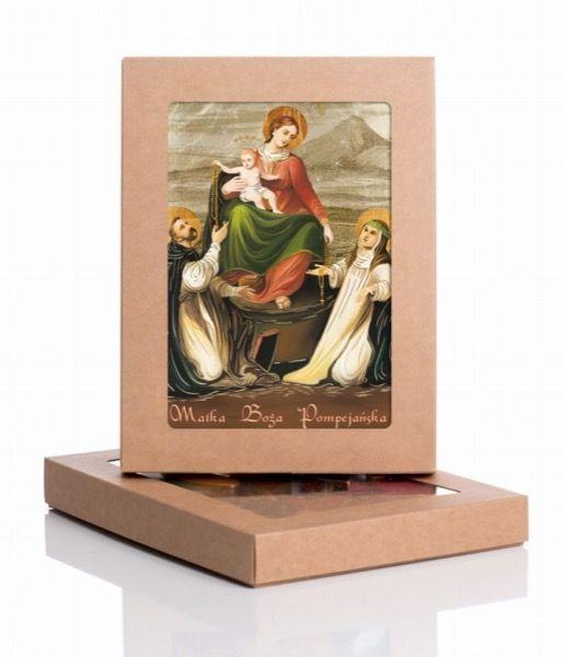 Ikona z Matką Bożą Pompejańską