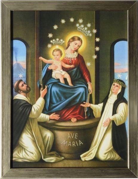 Obraz Matki Bożej Pompejańskiej tradycyjny