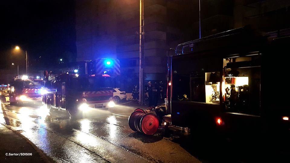 ?? Saint-Laurent-du-Var (06) : Incendie dans le garage d'un immeuble