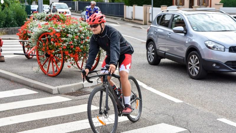 🇫🇷 Grand Est : Suivi de la dernière étape du parcours à vélo de Christoph Steuernagel