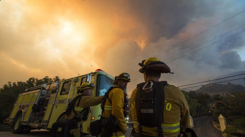 🇺🇸 Californie : Un feu de forêt meurtrier et très violent