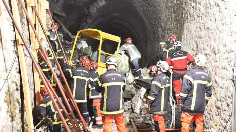 🇫🇷 Moriez (04) : Effondrement d'un tunnel ferroviaire sur des ouvriers