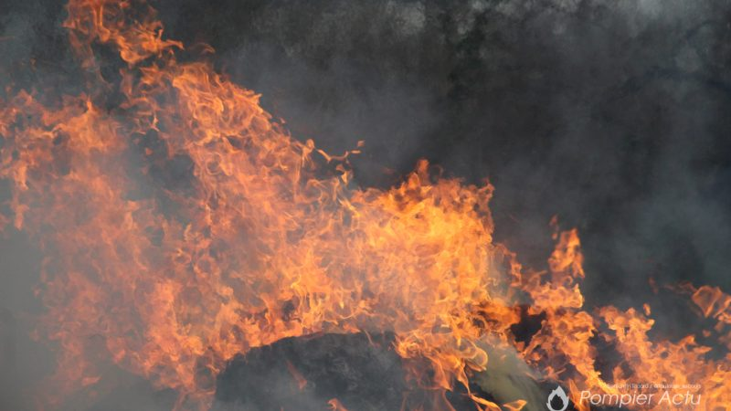 🇫🇷 Pontailler-sur-Saône (21) : Tous ensemble pour éteindre un incendie