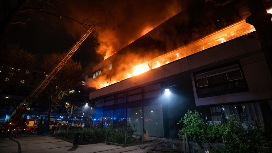?? Paris (75) : Une spectaculaire explosion dans un immeuble ne fait pas de victime
