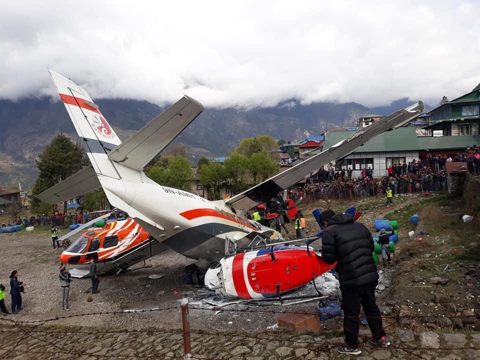 ?? Lukla : Un avion se crash au décollage et fait 3 morts
