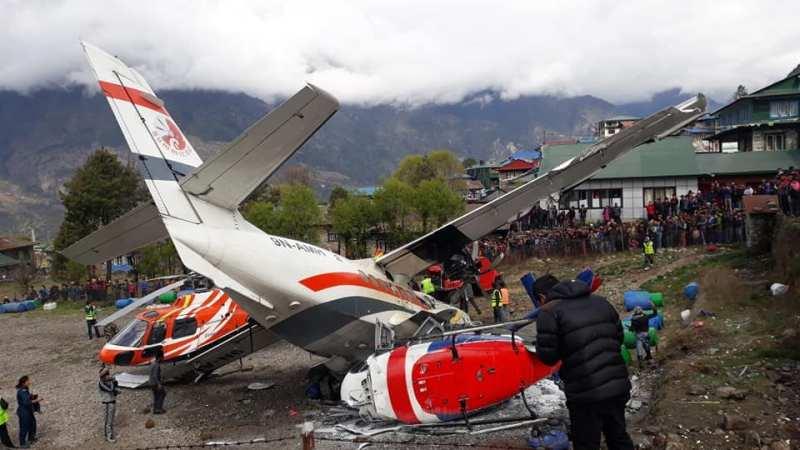 🇳🇵 Lukla : Un avion se crash au décollage et fait 3 morts