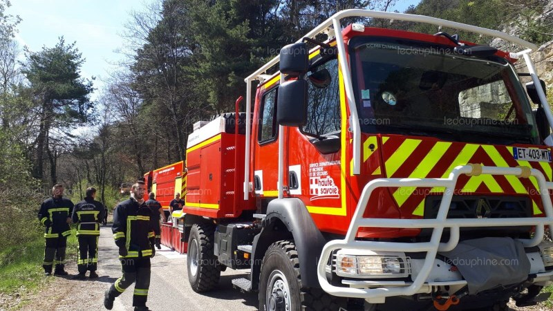 ?? Monnetier-Mornex (74) : Un feu de forêt ravage 4 hectares de sous bois
