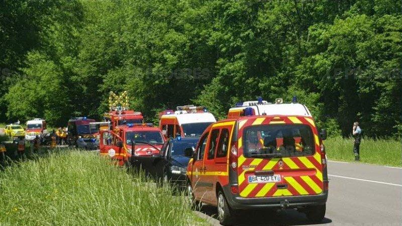 ?? Périgny (39) : Un accident fait 6 blessés dont 4 graves