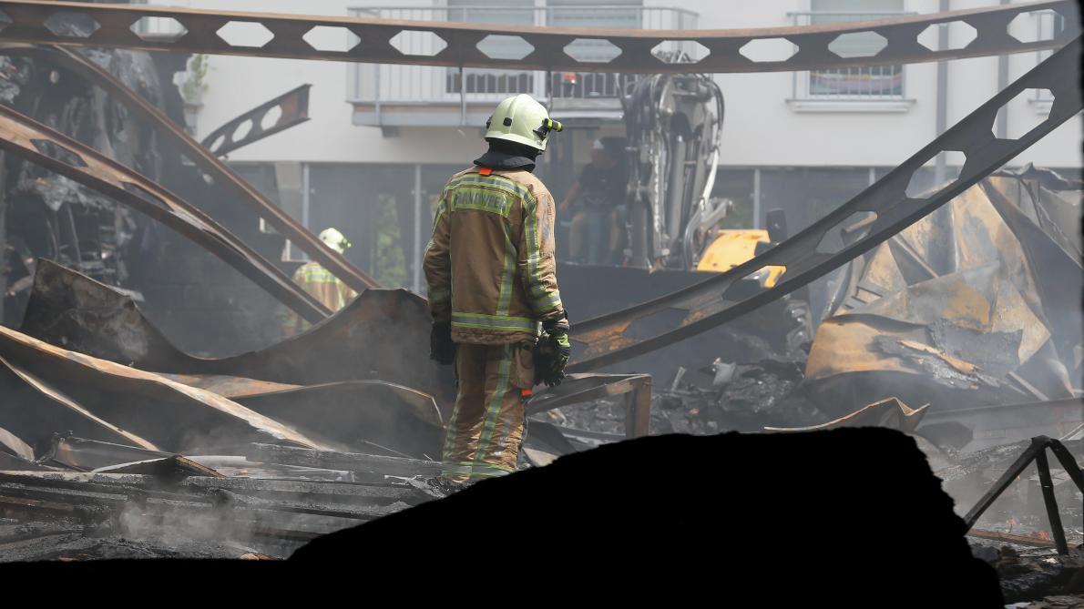 🇧🇪 Beringen : Décès tragique de deux pompiers lors d'un incendie