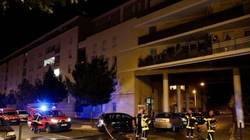 🇫🇷 Avignon (84) : Un pompier projeté par une explosion durant une intervention