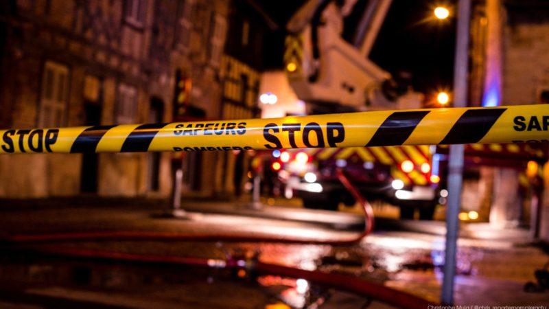 🇫🇷 Saint-Trivier-de-Courtes (01) : Un feu détruit la charpente du clocher de l'église