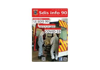 Magazine Sdis info 90 spécial COVID-19